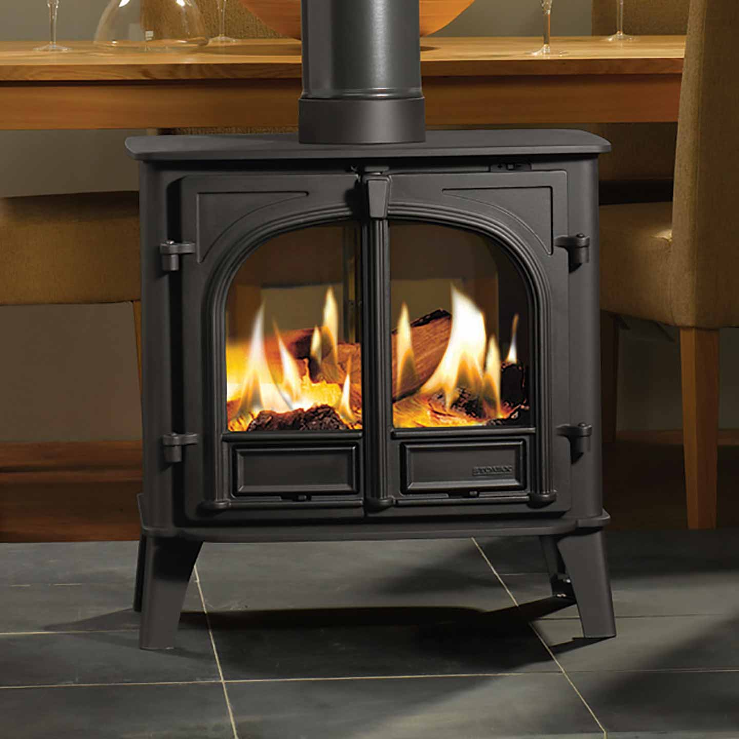 Stockton 8 Double Sided Stove Approved Dealer